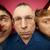 três · olhando · câmera · diferente · expressões · faciais · festa - foto stock © pressmaster