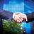 deal · boven · twee · zakenlieden · man - stockfoto © pressmaster
