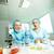químicos · experiencia · sorprendido · experimento · nuevos - foto stock © pressmaster