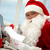 работу · Дед · Мороз · Рождества · письме - Сток-фото © pressmaster