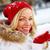 kış · güzellik · portre · mutlu · kız · kar - stok fotoğraf © pressmaster