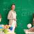 учитель · доске · портрет · Smart · Постоянный · глядя - Сток-фото © pressmaster