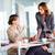 Teamarbeit · Bild · vier · Geschäftsfrauen · Business · Frau - stock foto © pressmaster