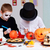 drawing on pumpkins stock photo © pressmaster
