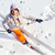 bastante · esquiador · ángulo · esquí - foto stock © pressmaster