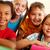 groupe · élèves · portrait · puce · regarder - photo stock © pressmaster