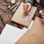 penseel · witte · verf · hand · schilderij · deur - stockfoto © pressmaster
