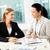 nők · dolgozik · portré · kettő · fiatal · üzletasszonyok - stock fotó © pressmaster