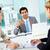 magyaráz · ötletek · üzletember · kollégák · megbeszélés · üzlet - stock fotó © pressmaster