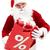 Рождества · продажи · фото · счастливым · Дед · Мороз · красный - Сток-фото © pressmaster