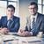 exitoso · socios · imagen · inteligentes · jóvenes · empresarios - foto stock © pressmaster