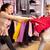 winkelen · geweld · afbeelding · twee · hebzuchtig · meisjes - stockfoto © pressmaster