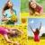napraforgók · kollázs · néhány · színes · napraforgó · képek - stock fotó © pressmaster