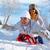 invierno · felicidad · retrato · feliz · maduro · Pareja - foto stock © pressmaster