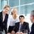 escuchar · negocios · líder · equipo · de · negocios · mujer · hombre - foto stock © pressmaster