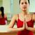 calme · brunette · yoga · corps · fitness · beauté - photo stock © pressmaster