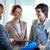 reunión · mujeres · imagen · cuatro · empresarias · negocios - foto stock © pressmaster