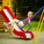 heureux · petite · fille · souriant · Swing · parc · peu - photo stock © pressmaster