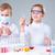 ninos · científicos · dos · químicos · medicina - foto stock © pressmaster