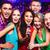 karaoke · bar · portret · gelukkig · meisjes · zingen - stockfoto © pressmaster