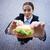 деловая · женщина · еды · сэндвич · мнение · деловой · женщины · улице - Сток-фото © pressmaster