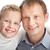 мальчика · отец · портрет · счастливым · отцом · сына · глядя - Сток-фото © pressmaster