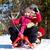 invierno · feliz · amigos · nina · nieve - foto stock © pressmaster