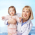 медсестры · ребенка · ухода · Постоянный · защиту - Сток-фото © pressmaster