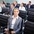 groep · zakenlieden · lijn · naar · ernstig · vrouwen - stockfoto © pressmaster