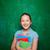 lány · tankönyvek · portré · aranyos · iskolás · lány · néz - stock fotó © pressmaster