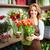 feliz · florista · retrato · jóvenes · femenino · grande - foto stock © pressmaster