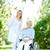 lopen · patiënt · mooie · verpleegkundige · zorg - stockfoto © pressmaster