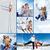 Skiers in park stock photo © pressmaster