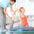 mężczyzna · jogi · instruktor · pomoc · kobieta · fitness - zdjęcia stock © pressmaster