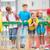 kinderen · speeltuin · gelukkig · vrienden · kind - stockfoto © pressmaster