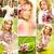 primavera · collage · hermosa · flores · flor · luz - foto stock © pressmaster