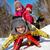 invierno · diversión · feliz · amigos · mirando · cámara - foto stock © pressmaster