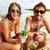 feliz · casal · óculos · de · sol · praia · quadro · mulher - foto stock © pressmaster