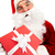 фото · счастливым · Дед · Мороз · красный · глядя - Сток-фото © pressmaster