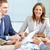 megbeszélés · kép · üzleti · partnerek · megbeszél · tervek · üzlet - stock fotó © pressmaster