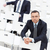 Businessmen in conference hall stock photo © pressmaster