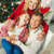 família · feliz · natal · retrato · filho · pai · papai · noel - foto stock © pressmaster