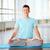 bell'uomo · stuoia · di · yoga · studio · uomo · sport · corpo - foto d'archivio © pressmaster