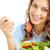 sağlıklı · beslenme · güzel · kız · yeme - stok fotoğraf © pressmaster