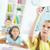 прозрачный · совета · изображение · написанный · девушки · образование - Сток-фото © pressmaster