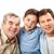 generatie · mannen · portret · vader · grootvader · zoon - stockfoto © pressmaster