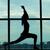 mulher · jovem · exercer · ginásio · janela · jovem - foto stock © pressmaster