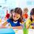 szkoła · podstawowa · studentów · piśmie · notebooki · podstawowy · edukacji - zdjęcia stock © pressmaster