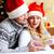 mąż · zaskakujący · żona · christmas · obecnej · kobieta - zdjęcia stock © pressmaster