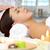 lujoso · primer · plano · femenino · masaje - foto stock © pressmaster